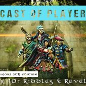 Dungeons & Dragons Cast of Players: Chapter 10 – Riddles & Revelations