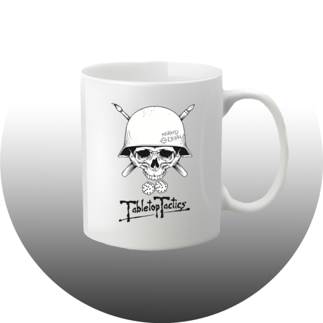 Tabletop Tactics Marked For Death Mug