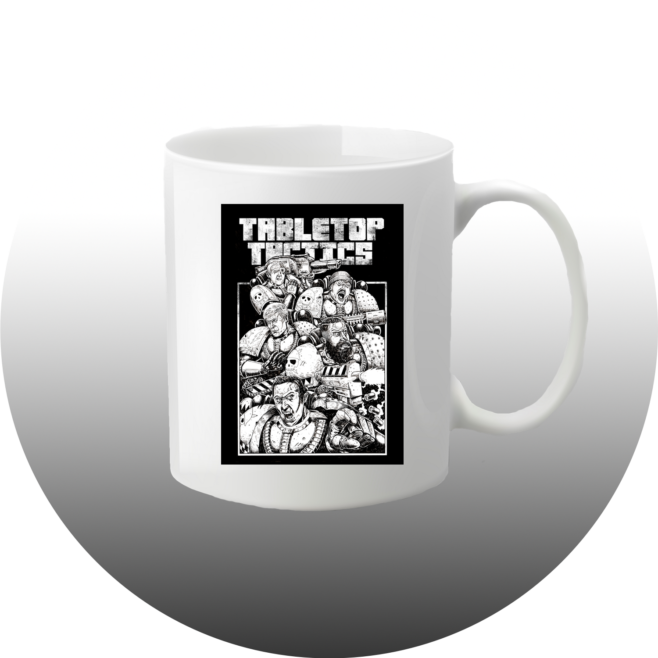 Tabletop Tactics Space Marine Squad Mug