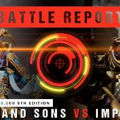 Warhammer 40,000 Battle Report: Thousand Sons vs Imperium 2000pts