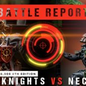 Warhammer 40,000 Battle Report: *NEW Chapter Approved* Grey Knights vs Necrons