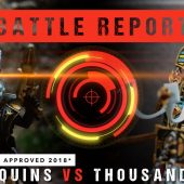 Warhammer 40,000 Battle Report: Harlequins vs Thousand Sons 1750pts