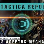 Warhammer 40,000 Tactica Report: T'au vs Adeptus Mechanicus 1750pts