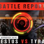 Warhammer 40,000 Battle Report: Tempestus vs Tyranids 1750pts