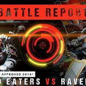 Warhammer 40k *NEW CHAPTER APPROVED* Battle Report: World Eaters vs Ravenwing 1750pts