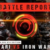 Warhammer 40,000 Battle Report: Drukhari vs Iron Warriors 2000pts
