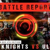 Warhammer 40,000 Battle Report: Grey Knights vs Ulthwe 1750pts