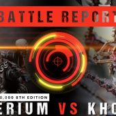 Warhammer 40,000 Battle Report: Imperium vs Khorne 2000pts