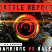 Warhammer 40,000 Battle Report: Iron Warriors vs Ravenwing 2000pts