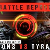 Warhammer 40,000 Battle Report: Necrons vs Tyranids 2000pts
