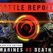 Warhammer 40,000 Battle Report: Ultramarines vs Death Guard 2000pts