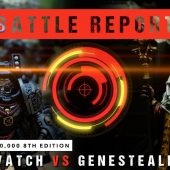 Warhammer 40,000 Battle Report: Deathwatch vs Genestealer Cult 2000pts