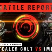 Warhammer 40,000 Battle Report: *NEW CODEX* Genestealer Cult vs Imperium 2000pts