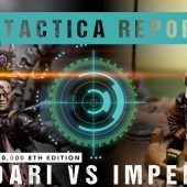 Warhammer 40,000 Tactica Report: Aeldari vs Imperium 2000pts