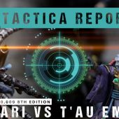 Warhammer 40,000 Tactica Report: Aeldari vs T'au 2000pts