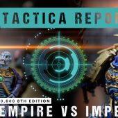 Warhammer 40,000 Tactica Report: T'au vs Imperium 2000pts