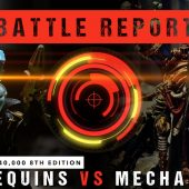 Warhammer 40,000 Battle Report: Harlequins vs Adeptus Mechanicus 2000pts