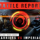 Warhammer 40,000 *NEW CODEX* Battle Report: Iron Warriors vs Imperial Fists 2000pts