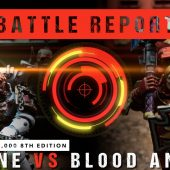Warhammer 40,000 Battle Report: Khorne vs Blood Angels 2000pts