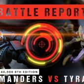 Warhammer 40,000 Battle Report: Salamanders vs Tyranids 2000pts