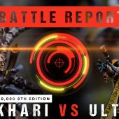 Warhammer 40,000 Battle Report: Drukhari vs Ulthwe 1750pts