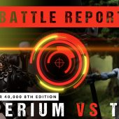 Warhammer 40,000 Battle Report: Imperium vs T'au 2000pts