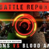 Warhammer 40,000 Battle Report: Necrons vs Blood Angels 2000pts