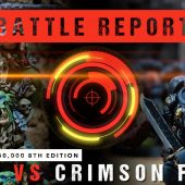 Warhammer 40,000 Battle Report: Orks vs Crimson Fists 1750pts