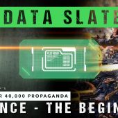 Warhammer 40,000 Propaganda Data Slate: Balance – The Beginning