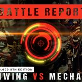 Warhammer 40,000 Battle Report: Ravenwing vs Adeptus Mechanicus 2000pts