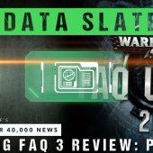 Warhammer 40,000 News Data Slate: The BIG FAQ 3 Review Part 3