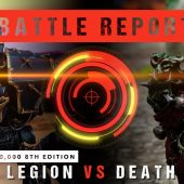 Warhammer 40,000 Battle Report: Black Legion vs Death Guard 2000pts