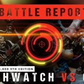 Warhammer 40,000 Battle Report: Deathwatch vs Orks 2000pts
