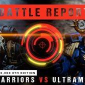 Warhammer 40,000 Battle Report: Iron Warriors vs Ultramarines 2000pts
