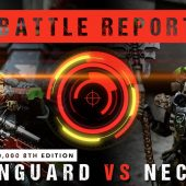 Warhammer 40,000 Battle Report: Raven Guard vs Necrons 2000pts