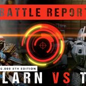 Warhammer 40,000 Battle Report: Tallarn vs T'au 2000pts